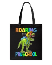 Preschool roaring Tote Bag tile