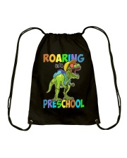 Preschool roaring Drawstring Bag tile