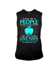 5 OUT OF 4 PEOPLE STRUGGLE WITH MATH  Sleeveless Tee thumbnail