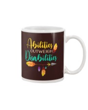 ABILITIES OUTWEIGH DISABILITIES Mug thumbnail