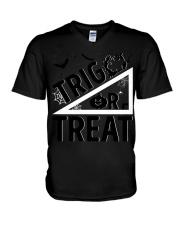 Trig or treat V-Neck T-Shirt thumbnail