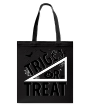 Trig or treat Tote Bag front