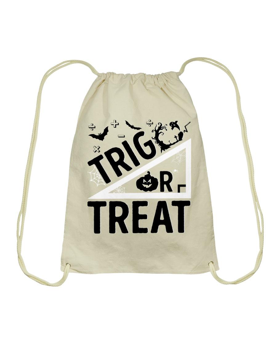 Trig or treat Drawstring Bag