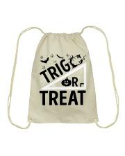 Trig or treat Drawstring Bag thumbnail