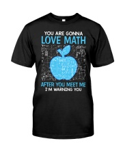 Love Math Classic T-Shirt front