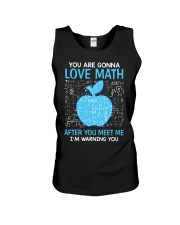 Love Math Unisex Tank tile