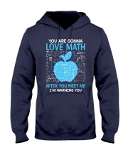 Love Math Hooded Sweatshirt thumbnail