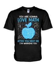 Love Math V-Neck T-Shirt thumbnail