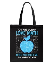Love Math Tote Bag thumbnail