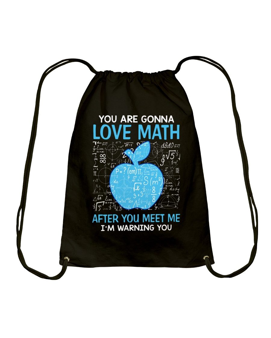 Love Math Drawstring Bag