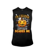 I'm a Teacher nothing scare me Sleeveless Tee thumbnail