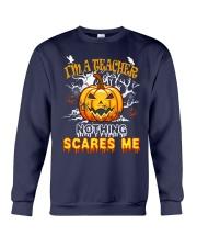 I'm a Teacher nothing scare me Crewneck Sweatshirt thumbnail