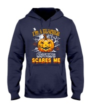 I'm a Teacher nothing scare me Hooded Sweatshirt thumbnail