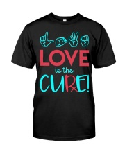 Love is the Cure Classic T-Shirt thumbnail