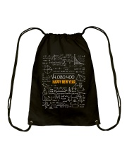 HAPPY NEW YEAR MATH TEACHER  Drawstring Bag thumbnail