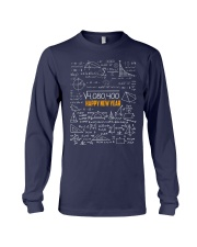 HAPPY NEW YEAR MATH TEACHER  Long Sleeve Tee tile
