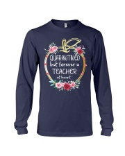 QUARANTINED - Teacher at heart Long Sleeve Tee thumbnail