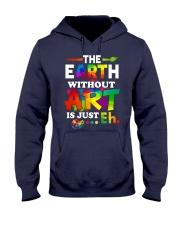 The earth without art is just Hooded Sweatshirt thumbnail