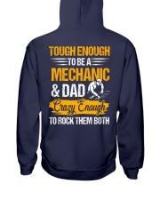 Mechanic and Dad Hooded Sweatshirt thumbnail