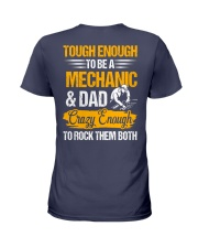 Mechanic and Dad Ladies T-Shirt thumbnail