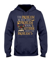 The problem is not the problem Hooded Sweatshirt thumbnail