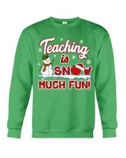 Teaching is snow much fun Crewneck Sweatshirt thumbnail