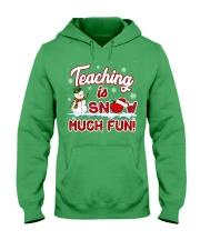Teaching is snow much fun Hooded Sweatshirt thumbnail