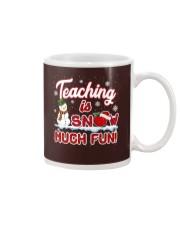 Teaching is snow much fun Mug thumbnail