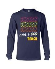 SKSKSK AND I OOP TEACH Long Sleeve Tee thumbnail