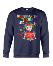 KINDERGARTEN TEACHER LIFE Crewneck Sweatshirt thumbnail