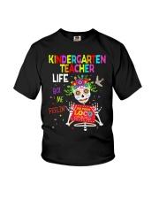 KINDERGARTEN TEACHER LIFE Youth T-Shirt thumbnail