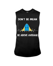don't be mean be above average Sleeveless Tee thumbnail
