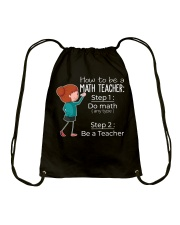 HOW TO BE A MATH TEACHER Drawstring Bag thumbnail