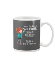 HOW TO BE A MATH TEACHER Mug thumbnail