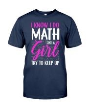 Math like a Girl Classic T-Shirt thumbnail