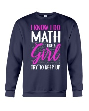 Math like a Girl Crewneck Sweatshirt thumbnail
