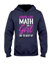 Math like a Girl Hooded Sweatshirt thumbnail
