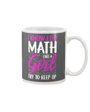 Math like a Girl Mug thumbnail