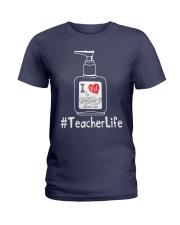Hanitizer Teacherlife Ladies T-Shirt thumbnail
