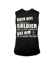 Army Mom Shirt Sleeveless Tee thumbnail