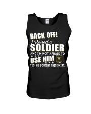 Army Mom Shirt Unisex Tank thumbnail