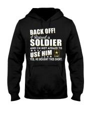 Army Mom Shirt Hooded Sweatshirt thumbnail