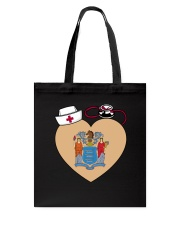New Jersey Nurse Tote Bag front
