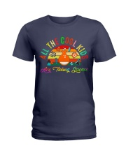 ALL THE COOL KIDS ARE TALKING SCIENCE Ladies T-Shirt thumbnail