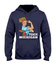 I TEACH MICHIGAN Hooded Sweatshirt thumbnail