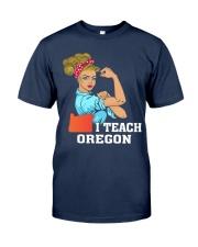 I TEACH OREGON Classic T-Shirt tile