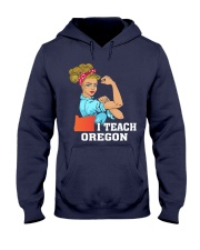 I TEACH OREGON Hooded Sweatshirt thumbnail