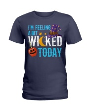 I'M FEELING A BIT WICKED TODAY Ladies T-Shirt thumbnail