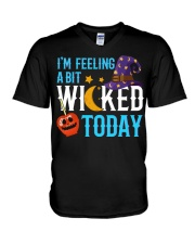 I'M FEELING A BIT WICKED TODAY V-Neck T-Shirt thumbnail