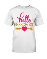 Hello Preschool Classic T-Shirt front